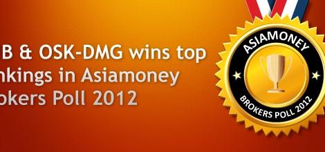 RHB & OSK-DMG wins top rankings in Asiamoney Brokers Poll 2012