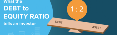 What the Debt to Equity Ratio tells an investor