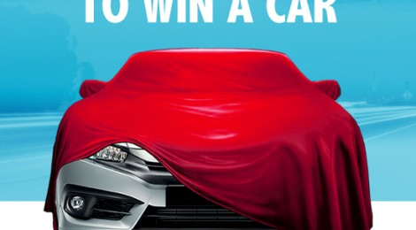 Get ready for the chance to win a car!