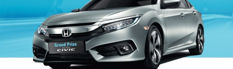 Trade & Win the all-new Civic 1.8s!