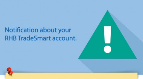 Notification about your RHB TradeSmart account - 5 Months