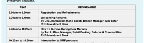 Seminar @ Bursa 2018: Top Stock Picks